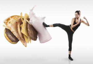 cuidarte con dieta y ejercicio