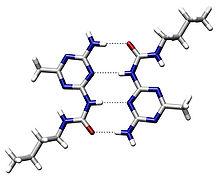 estructura molecular de una proteína