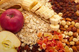 consumo de fibra en vegetales