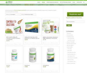comprar productos herbalife online