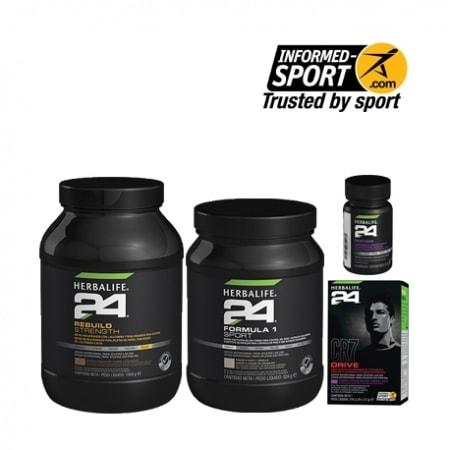 pack herbalife h24 deportes de fuerza