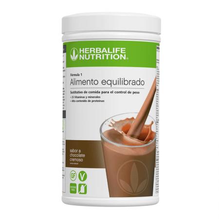 batido de chocolate cremoso herbalife